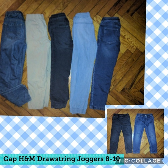 bd047495f GAP Bottoms | Lot Bundle Drawstring Denim Jogger Jean 8 10 | Poshmark